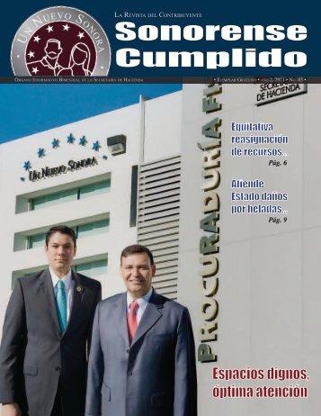 Sonorense Cumplido - SIIAF - Sistema Integral de Información y ...