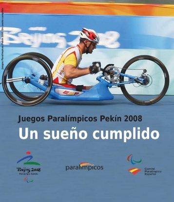 un sueño cumplido en pdf - Comité Paralímpico Español