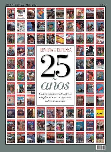 La Revista Española de Defensa cumple un cuarto de siglo como ...