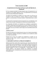 Boletín informativo No. 5-2013, CREOMPAZ. - Ministerio de la ...