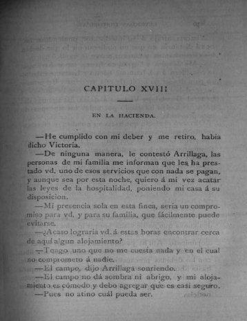 CAPITULO XVJU —He cumplido con mi deber y me ... - Bicentenario