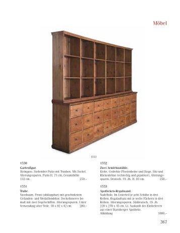 Möbel   Auktionshaus RUEF München