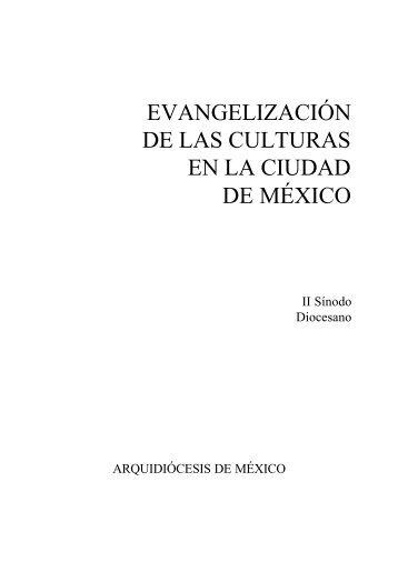 evangelización de las culturas en la ciudad de méxico - Vicaría de ...