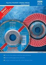 Flap Disc POLIFAN®-STRONG-FREEZE - PFERD