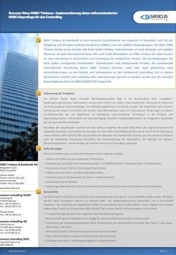 "Success Story ""Frima""- Überschrift - Saracus Consulting GmbH"