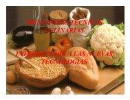 principales tecnicas culinarias
