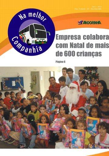Empresa colabora com Natal de mais de 600 crianças - Andorinha