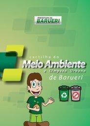 cidade limpa é mais qualidade de vida - Prefeitura de Barueri