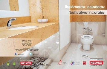FluxometrosyColadera.. - Helvex
