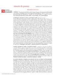 130705 MIÉRCOLES.indd - Fondo de Cultura Económica