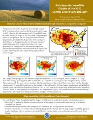 Download the 2-page summary - US Drought Portal