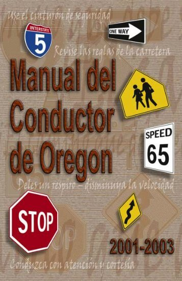 La licencia de conducir - Oregon State Library: State Employee ...