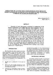 Extracción de algunos nematodos fitoparásitos mediante ...