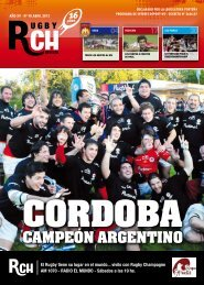 Link a la Revista RCH de Abril 2012 - Rugby Champagne Web
