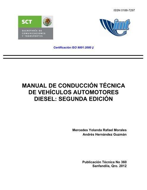 manual de conducción técnica de vehículos automotores diesel