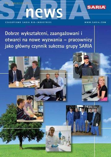 pracownicy jako główny czynnik sukcesu grupy SARIA - Saria Bio ...
