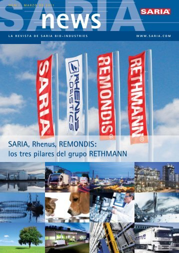 SARIAnews 1_2010_ESP_RZ.indd - Saria Bio-Industries AG & Co. KG