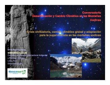 Crisis civilizatoria, cambio climático global y adaptación ... - InfoAndina