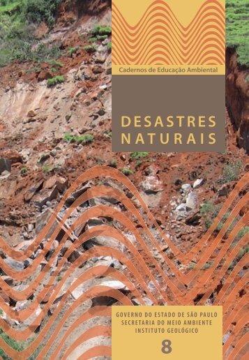 == desatres naturais - miolo - FINAL.indd - Secretaria do Meio ...