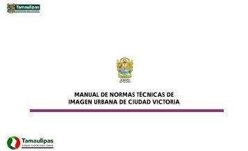 manual de normas técnicas de imagen urbana de ciudad victoria