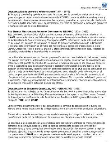 Anexo A - Páginas Personales UNAM