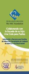 Colaborando con la escuela de su hijo - The HSC Foundation