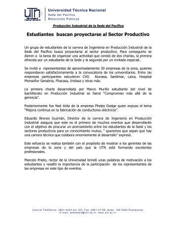 Artículo de Producción Industrial - Sede Pacífico - Universidad ...