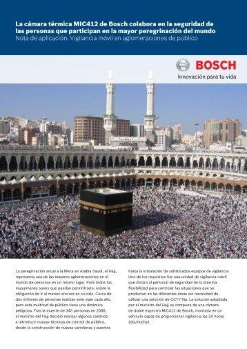 La cámara térmica MIC412 de Bosch colabora en la seguridad de ...
