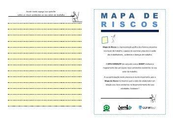 MAPA DE R I S C O S MAPA DE R I S C O S - Coren-SP