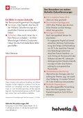 Meine Helvetia Zukunftsvorsorge 2010: Die staatlich geförderte ... - Seite 4