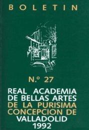 Boletín número 27 formato PDF - Real Academia de Bellas Artes de ...
