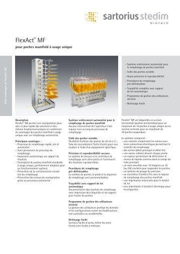 FlexAct® MF - Sartorius