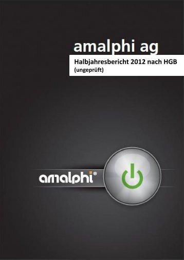 Lagebericht für das erste Halbjahr 2012