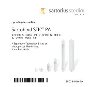 Sartofluor Midicaps And Capsules Sartorius