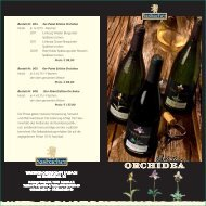 Edition Orchidea Flyer - Sasbacher