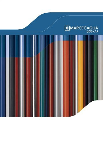 MARCEGAGLIA OSKAR - Steel and aluminium handles - Manici ...
