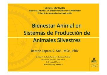 Bienestar Animal en Sistemas de Producción de Animales ...