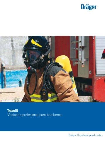 Vestuario profesional para bomberos. Texelit - Dräger