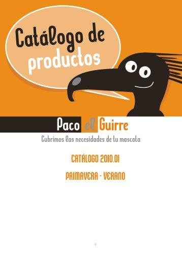 CATALOGO 10.01 - Paco el Guirre