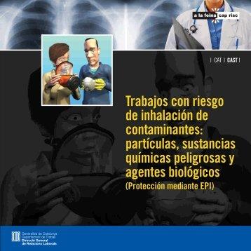 Trabajos con riesgo de inhalación de contaminantes: partículas ...