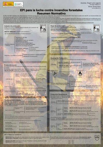 EPI para la Lucha contra Incendios Forestales. Resumen Narrativo