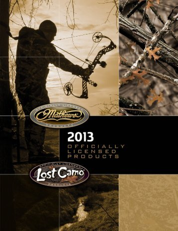 Lost Camo 2013 Catalog