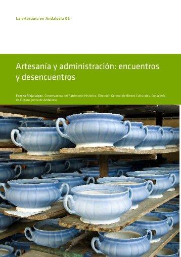 ph 59-76 Artesanía y administración. encuentros y desencuentrso