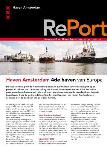 Maart 2010 - Haven Amsterdam