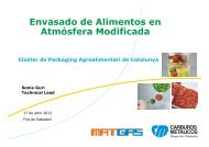 Envasado de Alimentos en Atmósfera Modificada - Clúster ...