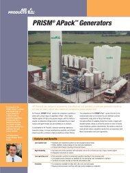 PRISM® APack™ Generators