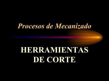 Materiales para Herramientas de corte - Sala CAM