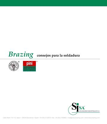 Brazing consejos para la soldadura - Sisa-brazing