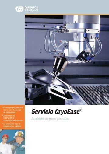 Ficha técnica del láser - Carburos Metálicos