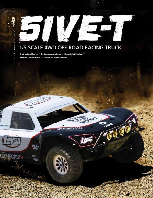 5IVE-T Losi B2576 Rear Bumper Brace Set 3